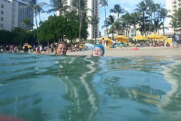 Spiegelung Waikiki