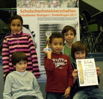 3. Platz  Kirchhaldenschule 2