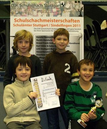 1. Platz Kirchhaldenschule 1