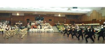 2010年タイ国太極拳表演大会での練功会演武