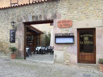 Restaurante recomendado Santillana del Mar