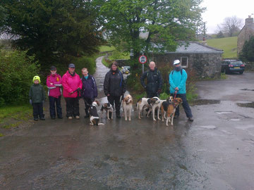 team that came out on the 18th for the yorkshire three peaks