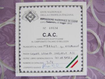 6-5-2012 Nazionale Pradamano (UD) C.A.C.