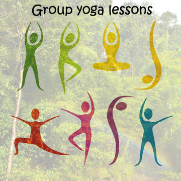 Walk-in yoga lessons for everybody, twice a day. Click here to read more.