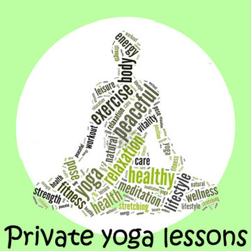 Private yoga lessons with a certified teacher. Click here to read more.