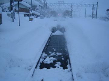 ポイント融雪