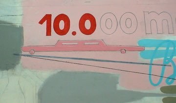 """10.000 markets..."" close-up"