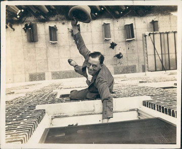 Florida Harry Gardnier Climbed Buildings Wire Photo vintage 1930s