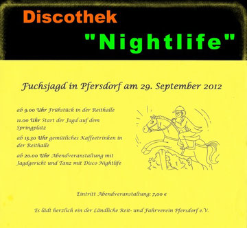 Fuchsjagt in Pfersdorf 29.09.2012