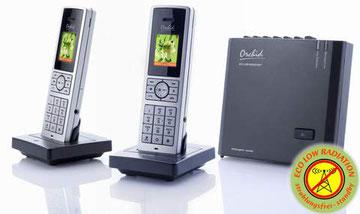 Le dernier né de la gamme ECO DECT Low Radiation d'ORCHID : le LR 8620T