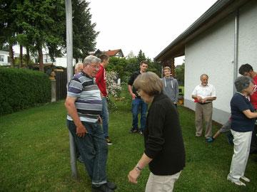 Grillnachmittag beim Haus der Gemeinschaft in Weidenhausen