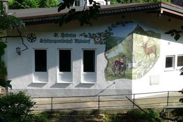 Das Schützenhaus der St. Hubertus Schützengesellschaft Rhöndorf e. V.