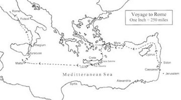 Paul's Voyage to Rome