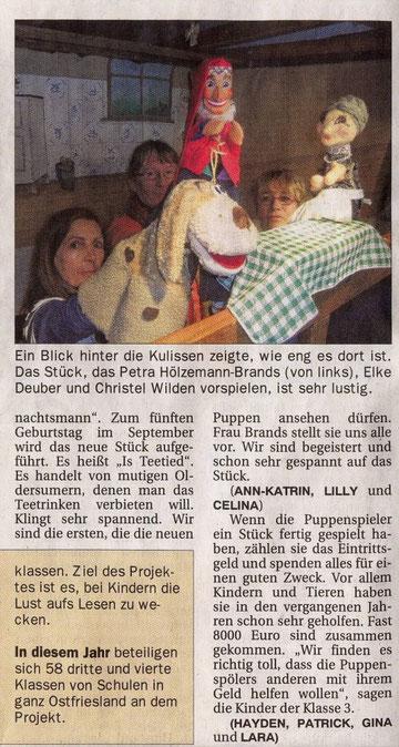 Ostfriesen-Zeitung vom 11.05.2012