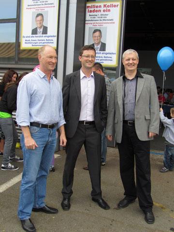 Die drei Brüder: Werner, Peter und Christoph