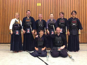 Training mit Kato Taishi vom Deutsch-Japanischen Sportaustausch in Fulda