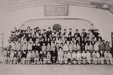 入学式は5年までいた富田小学校