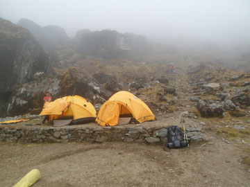 Charkateng campsite