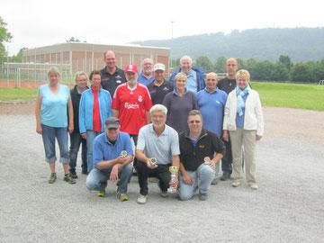 Teilnehmer Vereinsmeisterschaft Tête à tête