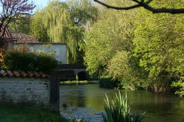 Le moulin à Auvignac