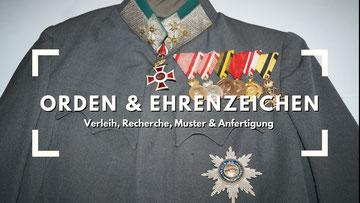 Thomas Ilming Militärhistoriche Beratung Verleih von Orden Ehrenzeichen Österreich Film Fernsehen Theater K.u.K.