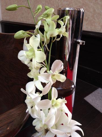 式場やお庭にある、お花たちです。