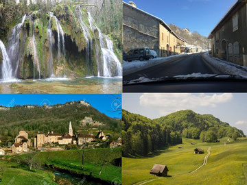 Département du Jura 39 - Pèlerinage bien-être -