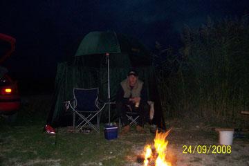 Nachtangeln am Velence-See