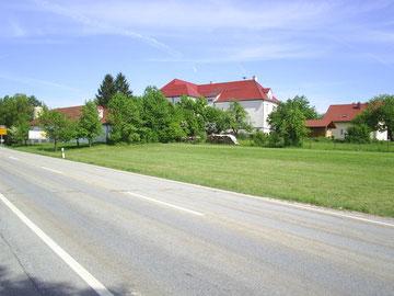 Standort neues Feuerwehrgerätehaus vorher