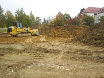 Baubeginn 28.10.2011