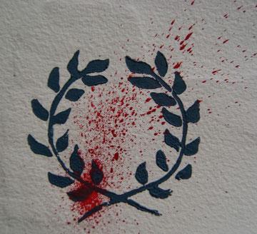 On couronnait les écoliers de Niort. Le lustre tomba, et les lauriers de trois d'entre eux se teignirent d'un peu de sang.