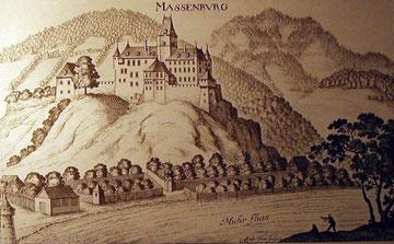 Wurmbrand, Stuppach, Massenburg