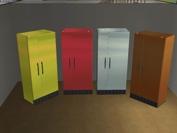 Recolorations Réfrigérateurs Bovinia BRR