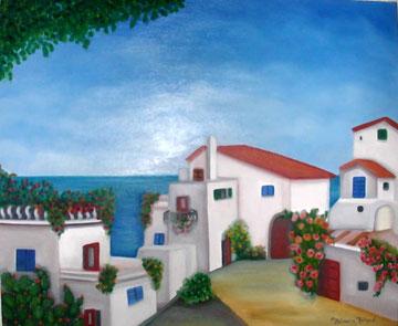 village au bord de mer en Tunisie