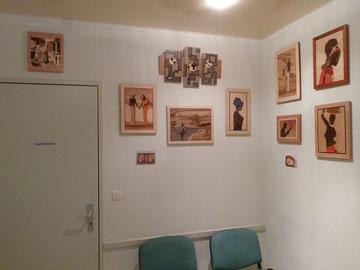 Du 13/04 au 01/06/2012 Expo cabinet kiné Gasser Burnhaupt-le-Haut