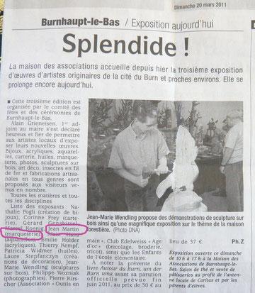 Dernières Nouvelles du 20/3/2011