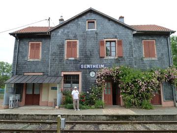 """16/06/2012    SENTHEIM  """"La gare aux artistes"""" les 16,17/6 à la gare du Train Thur Doller Alsace"""