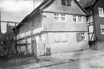 Das frühere Haus Stern nach dem Verkauf