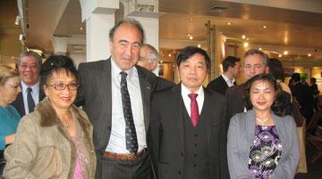 millenaire Hanoi avec  Yves Gazzo et S.E.Le Kinh Tai, Ambassadeur du Viet Nam en France