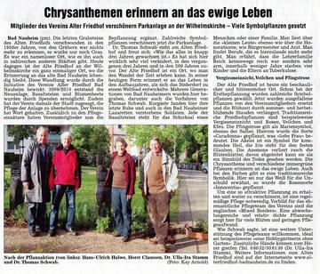 Wetterauer Zeitung vom 21. Mai 2012
