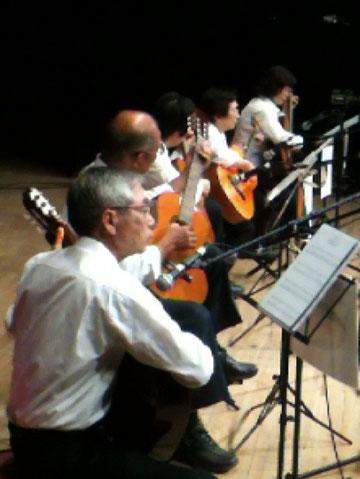 クラシックチーム! 手前から菅沼さん、直井ご夫妻、武藤さん、五月女さん