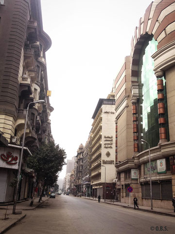 Talaat harb, Cairo © O.B.S.