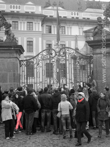 Menschen in Prag