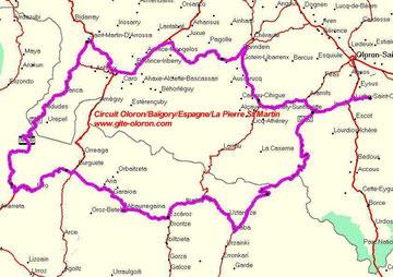 Oloron-Pays Basque en moto