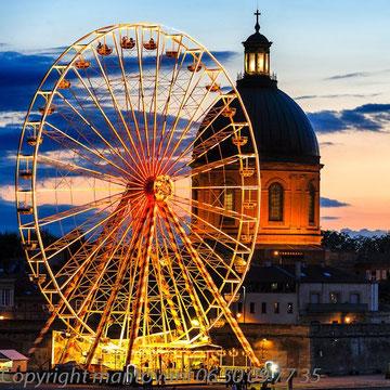 Grande roue a Toulouse