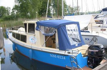 Hausboot RENTA | 3-4 Kojen | ohne Führerschein