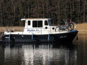 Hausboot MARIM 23 Masuren Polen