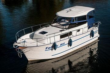 Hausboot NAUTIKA 830 | 6 Kojen, 2 Schlafkabinen | ohne Führerschein