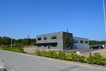 Notre nouveau hall, vue côté bureaux.