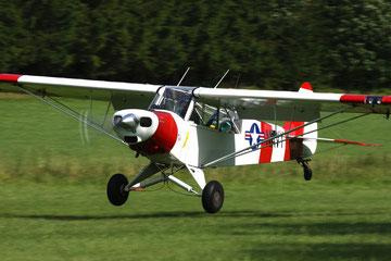 Piper L-21B Super Cub - D-ECAF